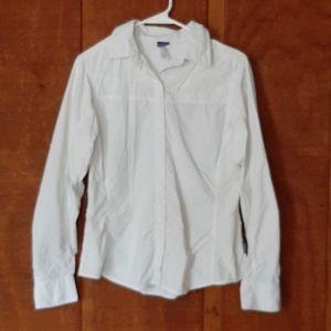 PATAGONIA Women's White Shirt Size 8